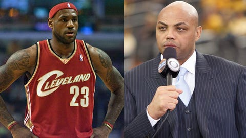 LeBron James vs. Charles Barkley