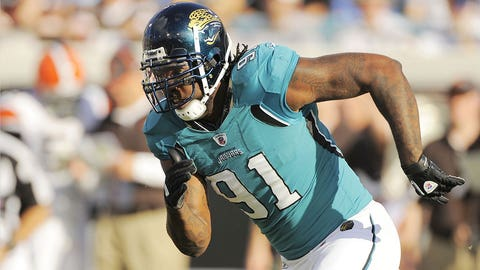 Jaguars: DE Derrick Harvey (No. 8, 2008)
