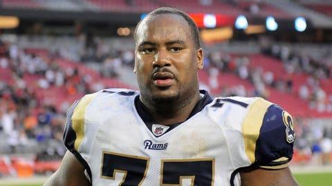 OT Jason Smith, No. 2 pick in 2009, St. Louis Rams