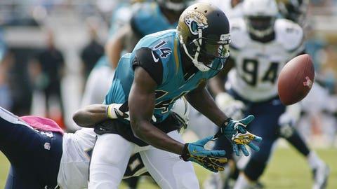 WR Justin Blackmon, No. 5 pick in 2012, Jacksonville Jaguars