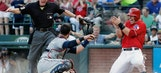Indians let one get away, drop series opener to Rangers