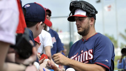 Glen Perkins: In pictures