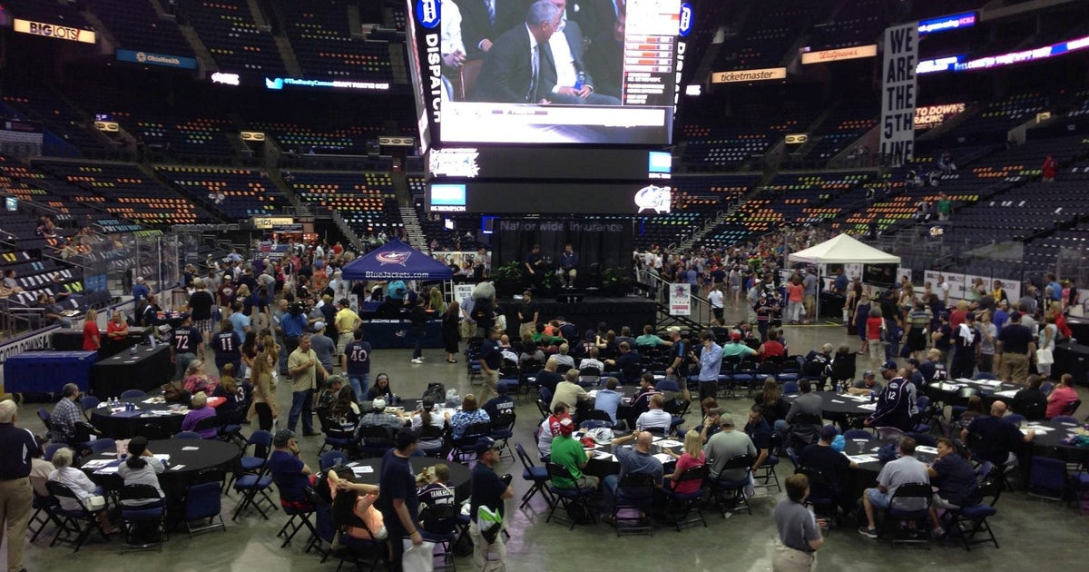 Blue Jackets welcome fans to Nationwide Arena for 2014 NHL draft ...