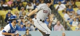 Indians pound Dodgers 10-3