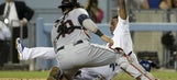 Indians turn double review triple play