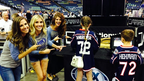 2014 Blue Jackets Draft Party