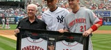 Reds honor Derek Jeter with retirement gift