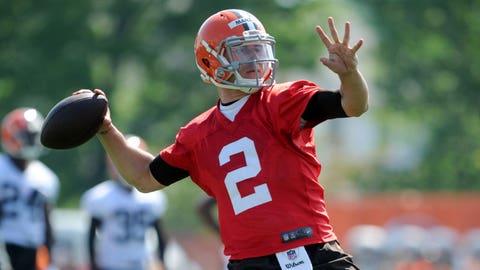 Browns QB Johnny Manziel, $2 million