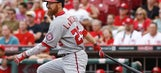 Reds rally comes up short, Nats win 4-2