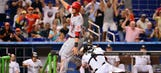 MLB issues statement on controversial Reds-Marlins play