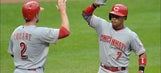 Reds bounce back with 9-2 win in Cleveland