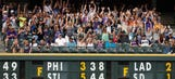 New form of 'the wave' in baseball?