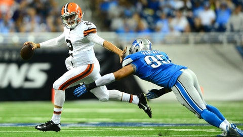 Go, Johnny, go: Manziel dances all over Ford Field in debut