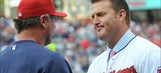 Giambi gives Thome No. 25 Indians jersey