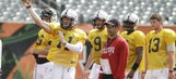 Tuberville still mum on starting QB after second UC scrimmage