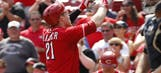 Timely offense shows up in Reds' win