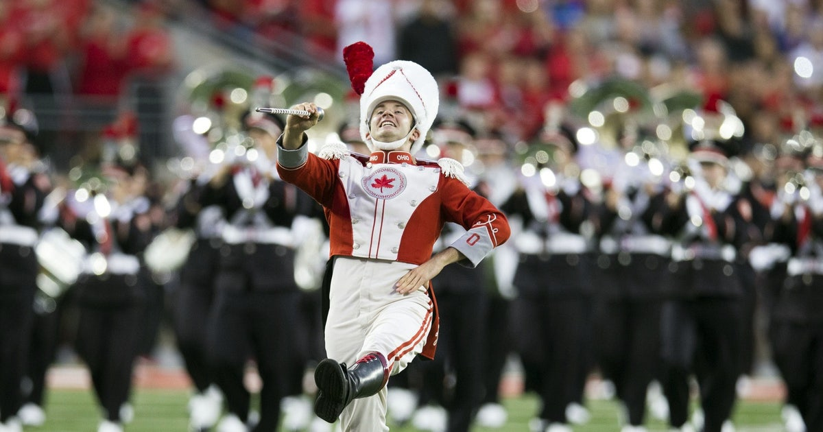 Video: Ohio State marching band puts on 'ROCtober ...