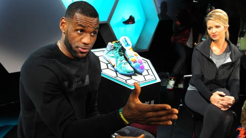 Nike LeBron Basketball