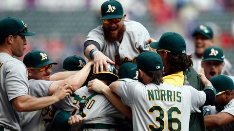 9. Oakland Athletics