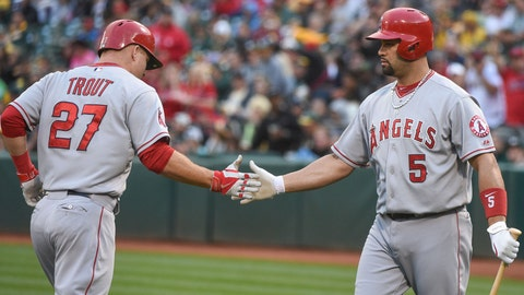 1. Los Angeles Angels