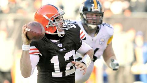 Jan 2, 2011: Steelers 41, Browns 9