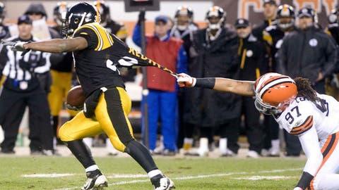 Jan 1, 2012: Steelers 13, Browns 9