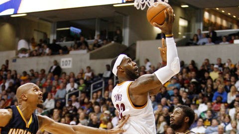 LeBron to the hoop