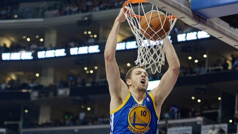 21. David Lee, PF Golden State Warriors: $15,012,000