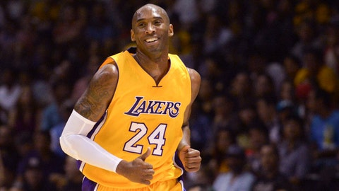 1. Kobe Bryant, SG Los Angeles Lakers: $23,500,000