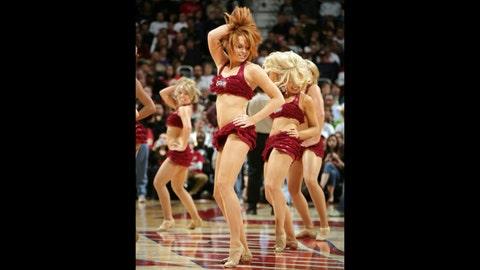 Cleveland Cavalier Girls dance team