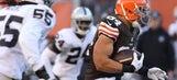 Cameron suffers concussion in Browns win
