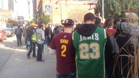 Cavs opener downtown