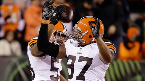 11. Cleveland Browns