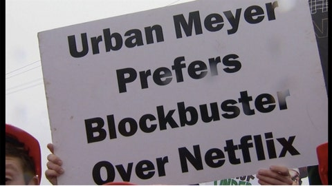 'Urban Meyer prefers Blockbuster over Netflix'