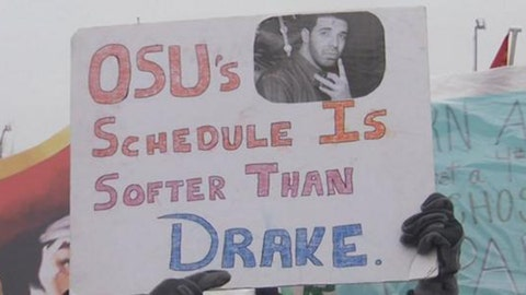 'OSU's schedule is softer than Drake'