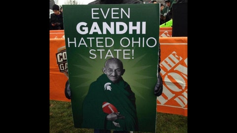 'Even Gandhi hated Ohio State!'