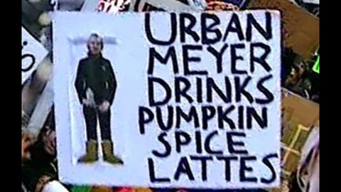Best signs from OSU-MSU