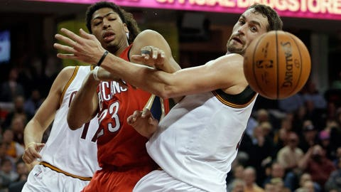 Pelicans Cavaliers Basketball