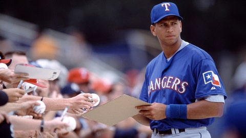 3. Alex Rodriguez, Texas Rangers: $252 million over 10 years