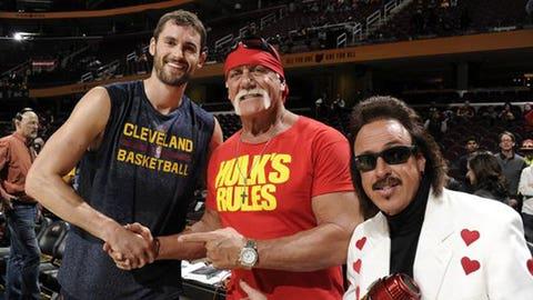 WWE legends Hulk Hogan and Jimmy Hart