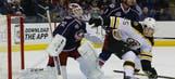 Khokhlachev shootout goal, Bruins beat Jackets
