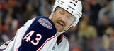 Movember puts the Blue Jackets in a hairy situation
