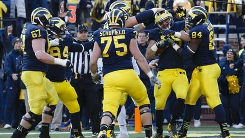 Michigan comes storming back
