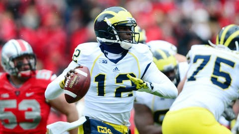 Devin Gardner strikes twice