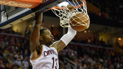Best action shots from Cavaliers-Pacers