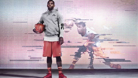 Kyrie gets first signature shoe