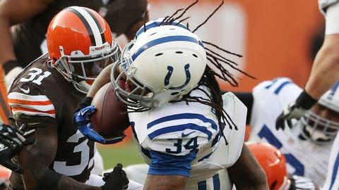 Stats vs. Browns Sunday