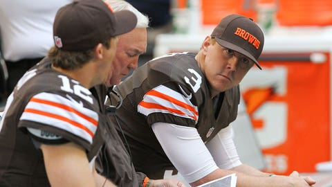 2012-13: First-round pick Brandon Weeden named starter