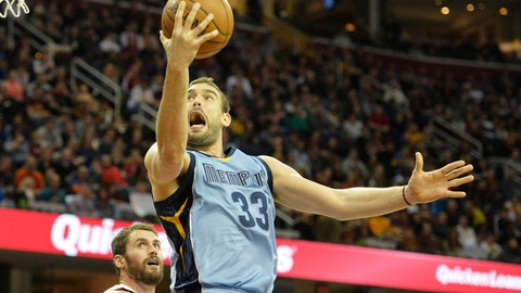Cavs vs. Grizzlies