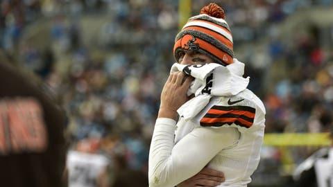 Johnny Manziel, QB, Browns